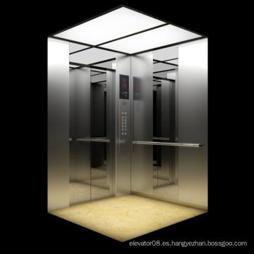 Espejo Acabado Acabado Acero Inoxidable Passenger Lift
