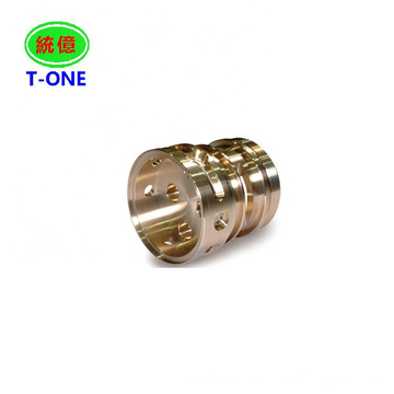 Precision custom manufacturing cnc machining brass part used for industrial machinery