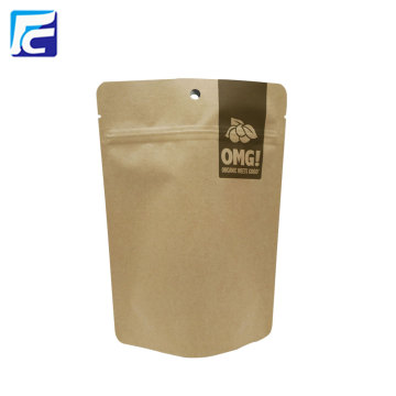 Food Kraft Package Paper Packaging Bag