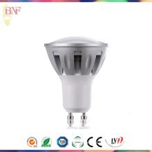 GU10 LED de alumínio de fundição com lâmpada de fábrica