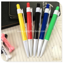 Promotional Advertising Logo Plastic Ballpoint Pen