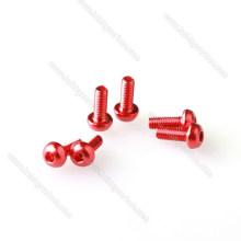 China fabricante de vendas quentes Anodizado Cônico / cabeça de embeber De Alumínio Parafusos de fabricação de preço de máquinas