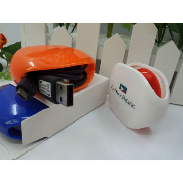 2014 new product Recoil automatic earphone winder