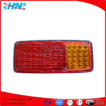 Red-Amber 24V LED Truck Tail Light With 60 LED Quantity