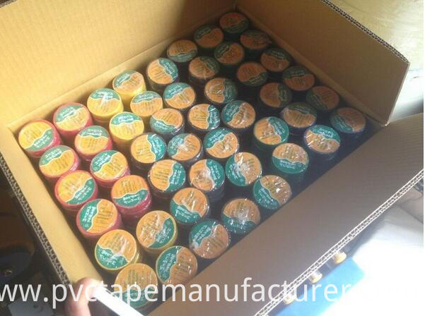 pvc tape packing