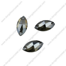Wholesale 9*18mm Navette Sew on Stones for Dress