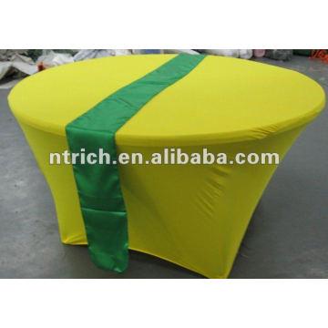 Novo estilo Lycra/elastano tabela/capa em tecido