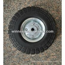 Roda de carrinho de mão com pneu de espuma de PU