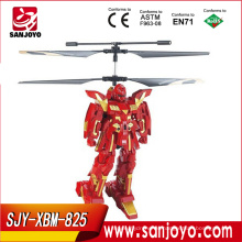 RC 2.5CH Battle Robots con Gyro XBM-825 Flying Robot toys Infrared Rc Helicopter