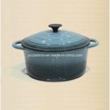 7qt esmalte de hierro fundido pote Pot Ce aprobado fábrica China