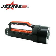 Фонарик светодиодный фонарик 4 * кри водонепроницаемый ткань дайвинг мощный светодиодный фонарик ручной