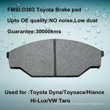 Plaquette de frein Toyota Hilux D303