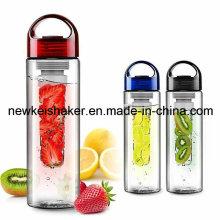 Бутылка воды с фруктовым инфузиром