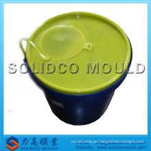 Buena calidad taizhou líder molde de cubo de plástico de inyección