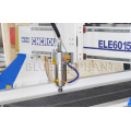 ELE6015 дешевые 3-осевая мини резьба по дереву фрезерный станок с ЧПУ с вакуумным столом