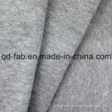 55% Cânhamo 45% algodão orgânico Tecido leve Jersey -Gray-by The Yard