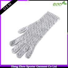 16FZCG05 cabo luva de malha mulheres imitação cashmere lã luva