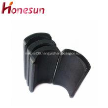 Permanent Sintered Hard Ferrite Arc Magnet for Motor