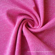 56% 140D Nylon 36% 100D nylon silver lurex and 8% spandex stretch fabric lurex fabric