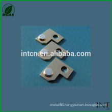 auto riveting components relay electrical contacts Ag points