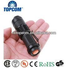 Hochleistungs-Mini-Clip Zoom-Taschenlampe