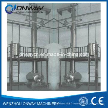 Jh Hihg Efficient Factory Price Acier inoxydable Solvent Acetonitrile Ethanol Distillerie Distillation à vide Alcool