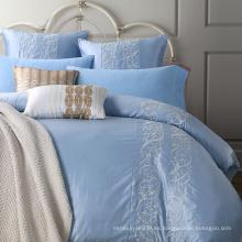 Tejido para el hogar bordado 100% algodón de lujo