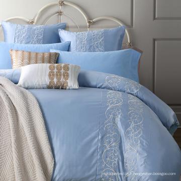 Luxe 100% coton brodé à la maison Textile