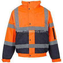 Warm waterproof reflective jackets