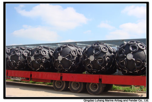 Diameter 1700mm x Length 3000mm Pneumatic Fender
