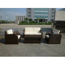 Simple Design Outdoor Rattan Sofa Furniture Set CF772