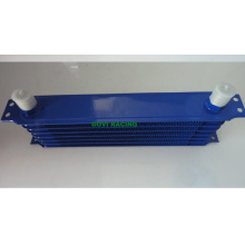 10 Row Blue An10 Transmissão Oil Cooler Radiator Repair