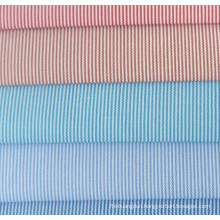 0.5mm Stripes Twill Yarn Dyed Shirt Fabric