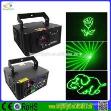Luzes verdes do disco do laser do cartão do SD único