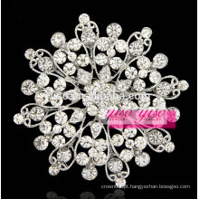 Jóias de festa de noiva flor broche de cristal broche pinos