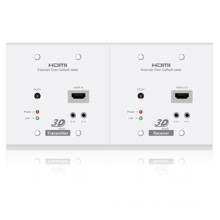 70m Over Cat5e/CAT6 with IR Hdbaset HDMI Extender Wallplate 4k