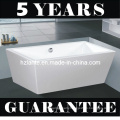 Modern Sanitary Ware Rectangular Freestanding Bathtub (LT-JF-8066)