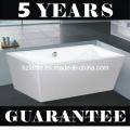 Modern Sanitary Ware Rectangular Freestanding Bathtub (LT-JF-8066)