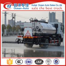 Howo 4 * 2 Camión del aspersor del asfalto del camión del pulverizador del betún / camión de mantenimiento de carretera inteligente