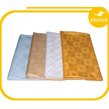 De calidad superior FEITEX Guinea Brocade Damasco Shadda Bazin Riche Nigeriano Cotton Designer Fabric African Dressing
