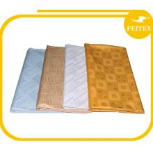 Высокое качество FEITEX Гвинея парчи дамасской Shadda Базен riche Нигерии хлопковая ткань Африканский выделка