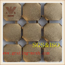 Cortina de malla metálica para decoración / cortinas de metal