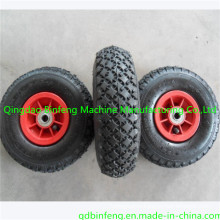 Diamond Pattern 3.00-4 Pneumatic Wheelbarrow Tire/Rubber Wheel