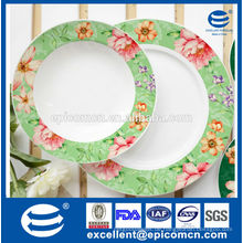 Blumen Dekoration Keramikplatten Porzellan Seitenplatten