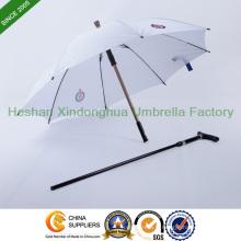 Parapluie canne incassable double usage pour le marché de Singapour (SU-0023AAFH)