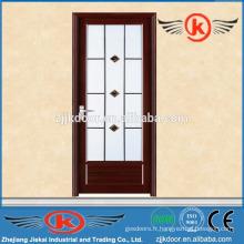 JK-AW9004 porte de toilette intérieure en aluminium avec verre dépoli