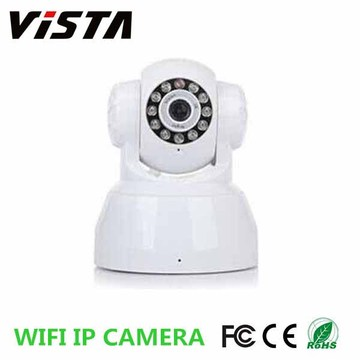 720p H.264 Webcam Wifi Ip Camera with Two Way Audio