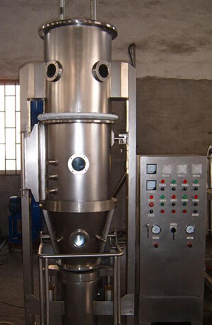 Batchwise Vertical Fluidized Bed Dryer