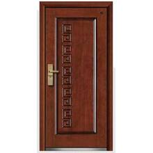 Modern Steel Wood Armored Door