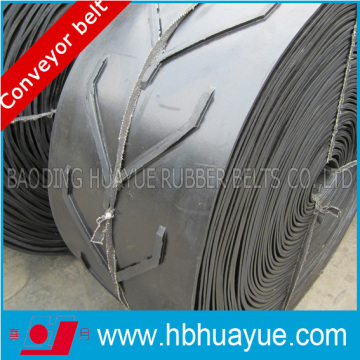 Special Shape Pattern Chevron Figured Rubber Conveyor Belting System Huayue China Well-Known Trademark 100-5400n/mm